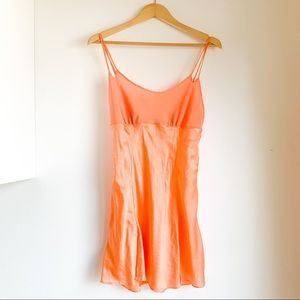 LA SENZA peach 🍑 satin camisole - very sweet